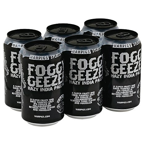 Warpigs Foggy Geezer Cans - 6-12 Fl. Oz.