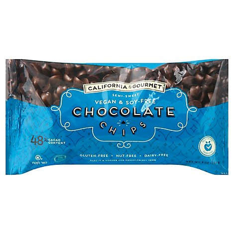 California Gourmet Vegan Chocolate Chips - 8 Oz