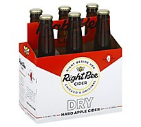 Right Bee Cider Dry 6pk Btl - 6-12 Fl. Oz.