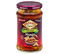 Pataks Medium Mango Relish - 10 Oz