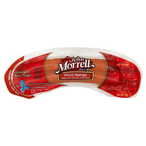 John Morrel Polish Sausage - 7 Oz