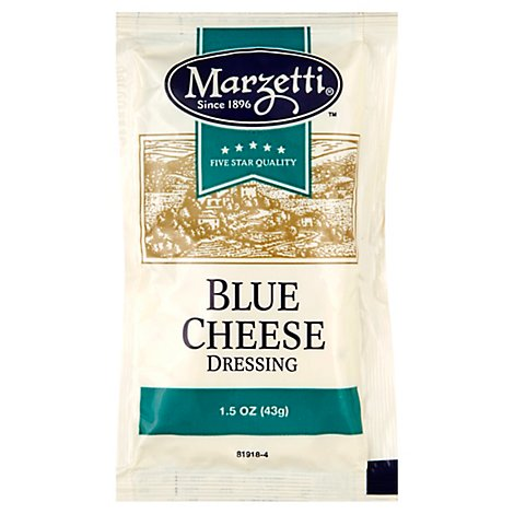 Marzetti Blue Cheese Dressing Pouch - 1.50 Oz