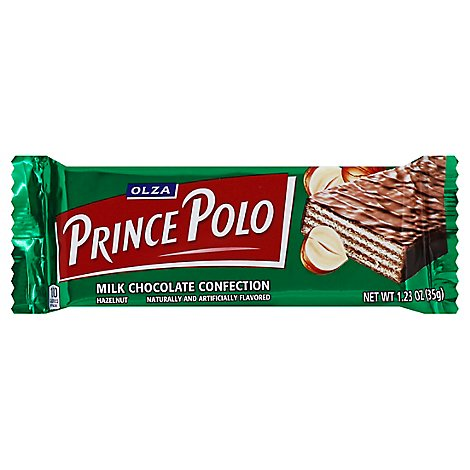 Kraft Prince Polo Hazelnut Mlk Chocolate Confection 1.27 Oz - 1.27 Oz