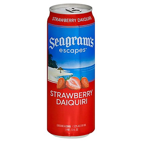 Seagrams Escapes Strawberry Caq Can - 23.5 Fl. Oz.