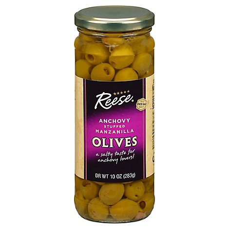 Reese Anchovy Stfd-Olive - Each