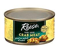 Reese Crab Meat Fancy - 6 Oz