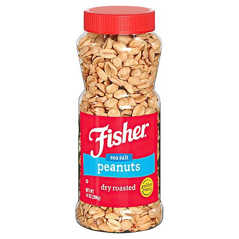 Fisher Golden Roast Peanuts - 14 Oz
