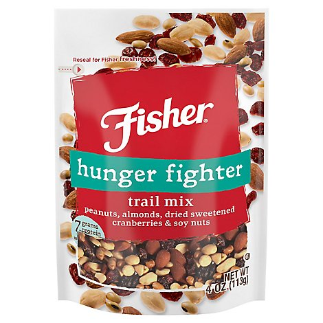 Fisher Hunger Fight Trail Mix - 4 Oz