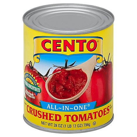 Cento All In One Regular Cruched Tomato - 28 Oz