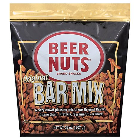 Beer Nuts Bar Mix - 32 Oz