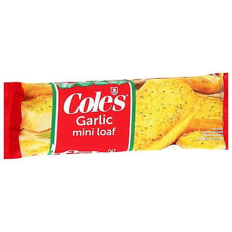 Coles Mini Garlic Loaf - 8 Oz