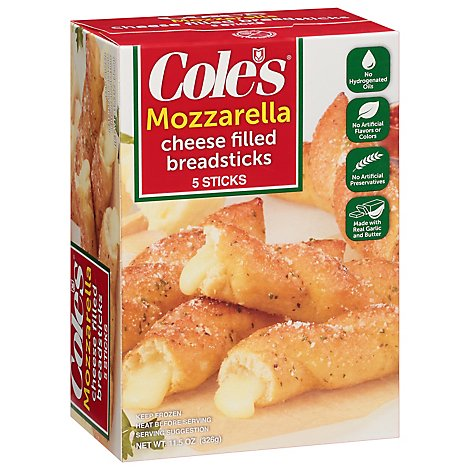 Coles Garlic Bread Cheesesticks - 11.5 Oz