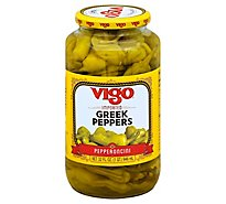 Vigo Greek Peppers 32 Oz - 32 Oz
