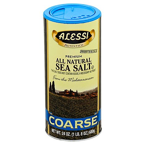 Alessi Salt Sea Coarse - 24 Oz