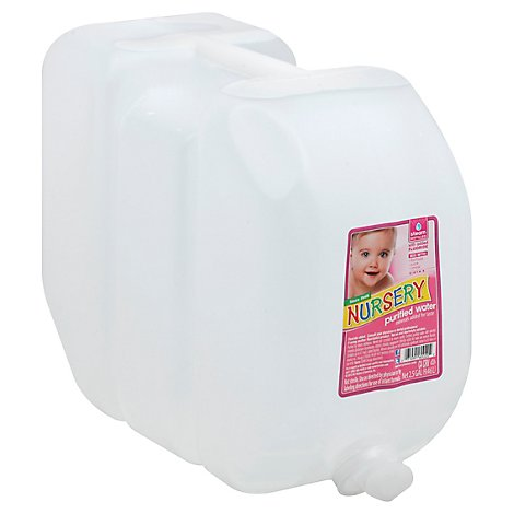 Nursery Purified Water With Fluoride - 2.5 Gallon