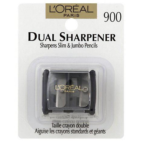 Loreal Dual Sharpener With Clear Cover - Each