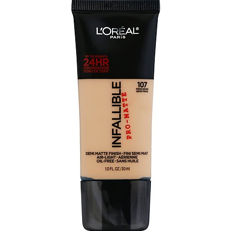 Loreal Paris Infallible Pro Matte Foundation Classic Ivory 1 Fz - 1 Fl. Oz.