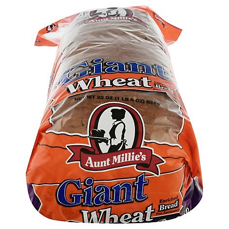 Aunt Millies Bread Deluxe Wheat - 22 Oz