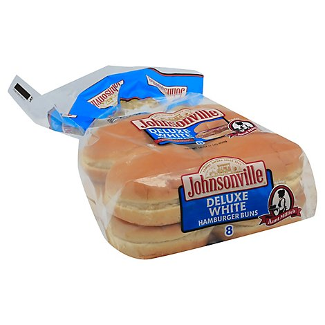 Aunt Millies Deluxe White Hamburger Buns 8 Count