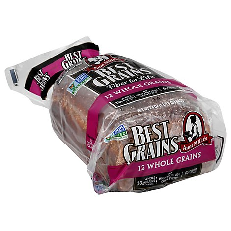 Aunt Millies Best Grains 12 Whole Grain Bread 24 oz.