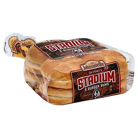 Johnsonville Grillers Burger Buns 8 Count