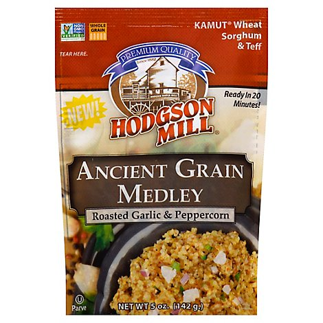 Hodgson Mill Roasted Garlic And Peppercorn Ancient Grain Medley - 5 Oz