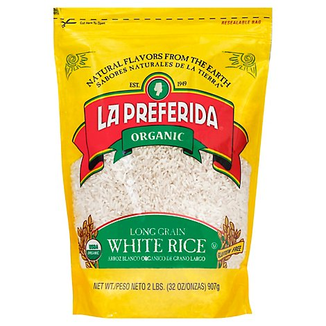 La Preferida Organic Long Grain Rice 16 Oz - 16 Oz