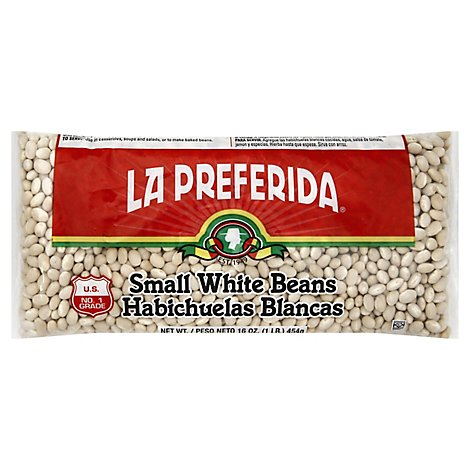 La Preferida White Beans Small, 16.0 Oz - 16 Oz