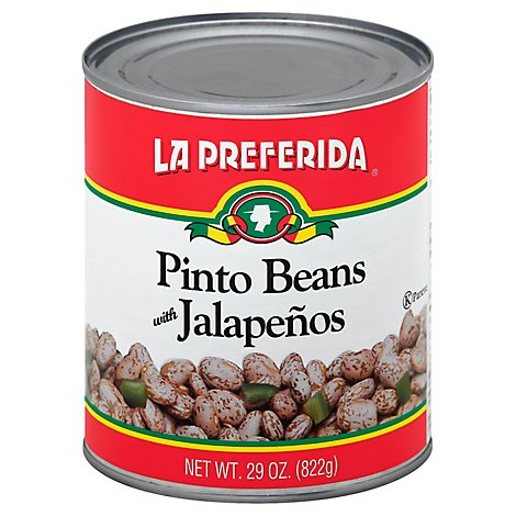 La Preferida Pinto Beans With Jalapenos, 29.0 Oz - 29 Oz
