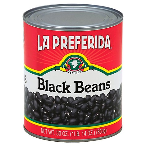 La Preferida Beans Black - 30 Oz