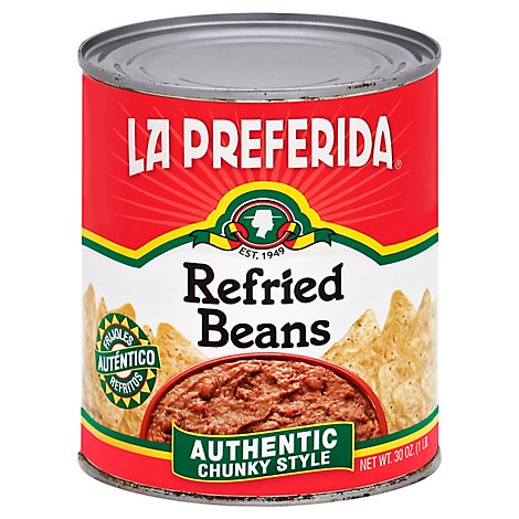 La Preferida Beans Refried - 30 Oz