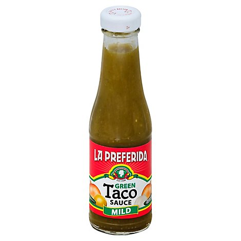 La Preferida Taco Sauce Green, Mild, 7.0 Oz - 7 Oz
