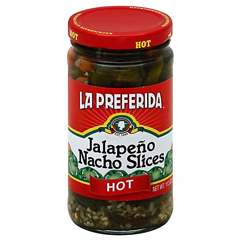 La Preferida Jalapeno Nacho Slices Hot - 11.5 Oz