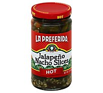 La Preferida Pepper Jlpno Nacho Ht - 11.5 Oz