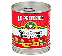 La Preferida Salsa Homestyle, Medium, 7.0 Oz - 7 Oz