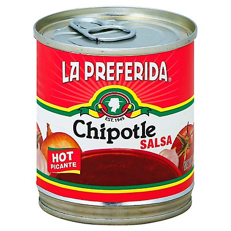 La Preferida Salsa Chipotle, Hot Picante, 7.0 Oz - 7 Oz