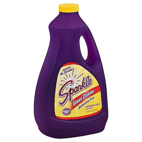 Sparkle Glass Cleaner Refill - 67.6 Oz
