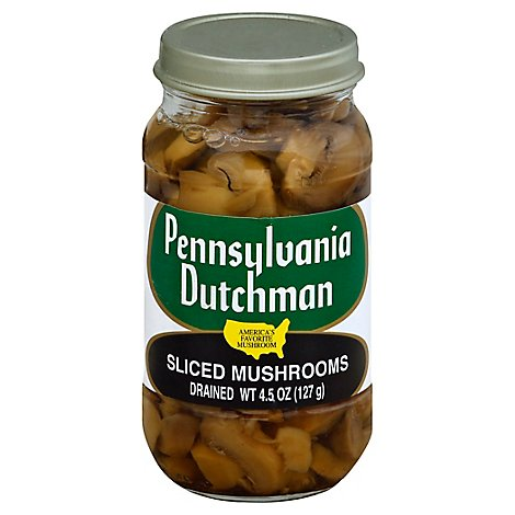 Pennsylvania Dutchman Sliced Mushrooms - 4.5 Oz