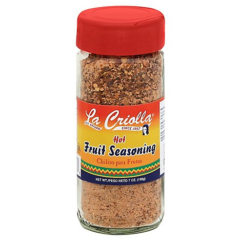 La Criolla Fruit Seasoning Hot, 7.0 Oz - 6 Oz