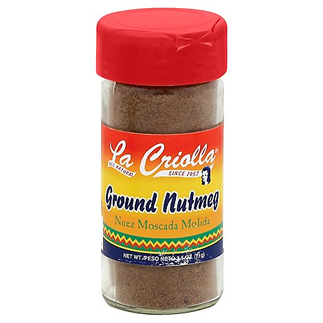 La Criolla Nutmeg Ground, 2.5 Oz - 2.5 Oz