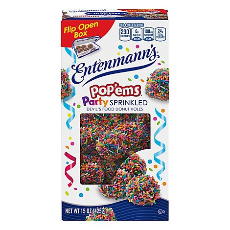 Entenmanns Popems Holiday - 16 Oz