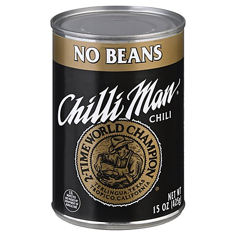 Chili Man No Bean Chili - 15 Oz