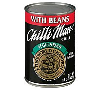 Chili Man Vegetariain Chili - 15 Oz
