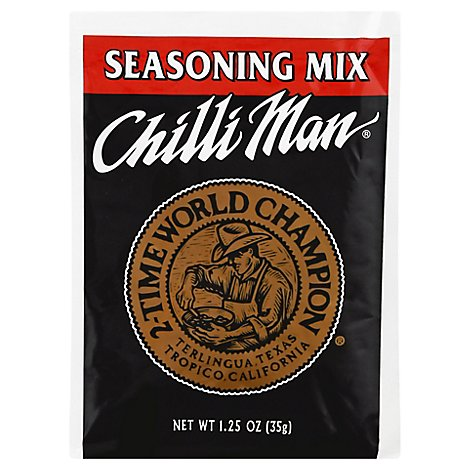 Chili Man Chili Seasoning - 1.25 Oz