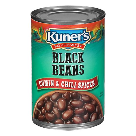 Kuners Beans Black Cumin & Chili Spices - 15 Oz