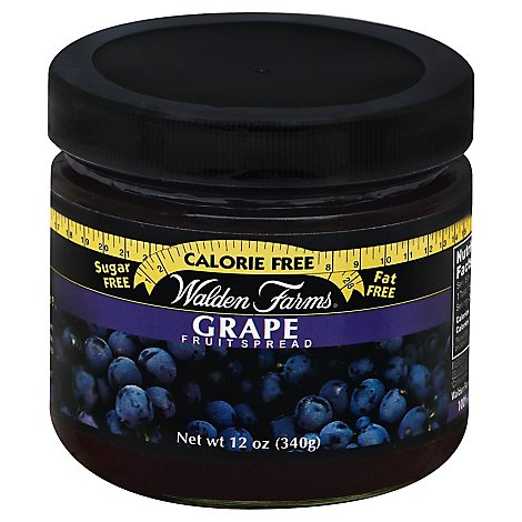 Walden Farms Fruit Spread Sugar Free Grape - 12 Oz