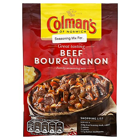 Colemans Mix Ssng Bourguignon - 1.4 Oz
