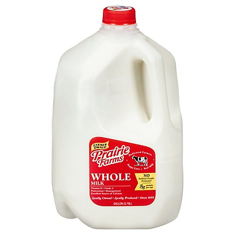 Prairie Farms Whole Milk - 128 Fl. Oz.