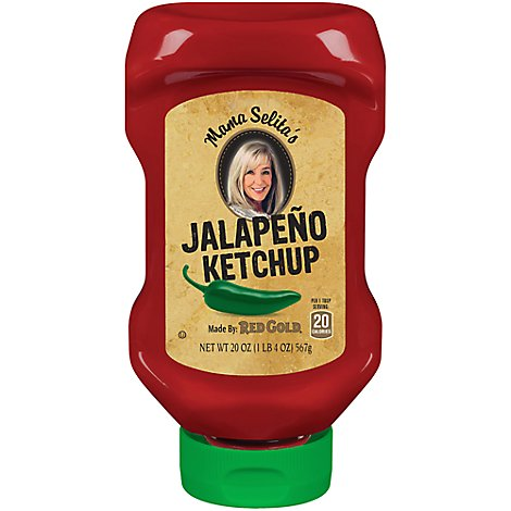 Red Gold Jalapeno Ketchup - 20 Oz