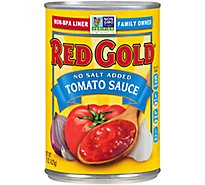 Red Gold No Salt Added Tomato Sauce - 15 Oz